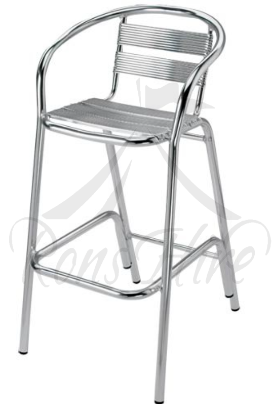 Chair Cocktail - Aluminium Arm Bar