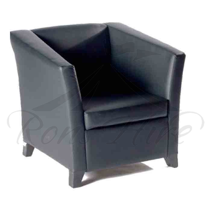 Chair - Black Club Chair