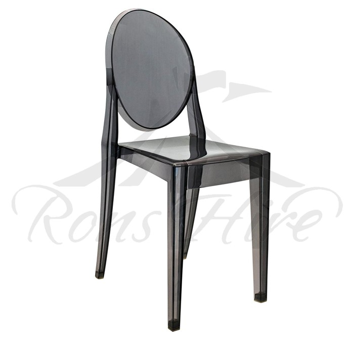 Chair - Black Ghost Chair