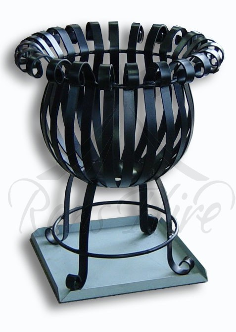 Brazier - Black Metal Medium Round Brazier