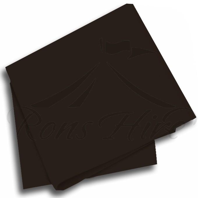 Napkin - Black Linen Napkin