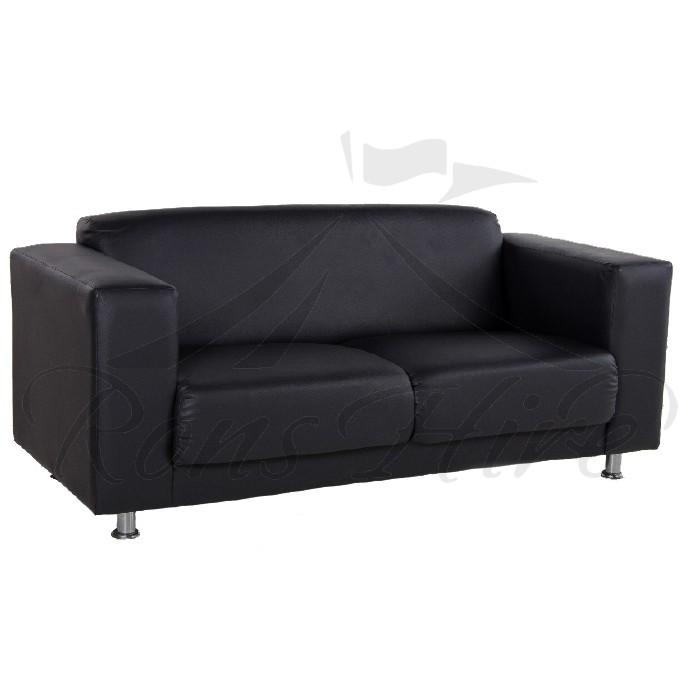 Lounger - Black Morgan Double Lounger
