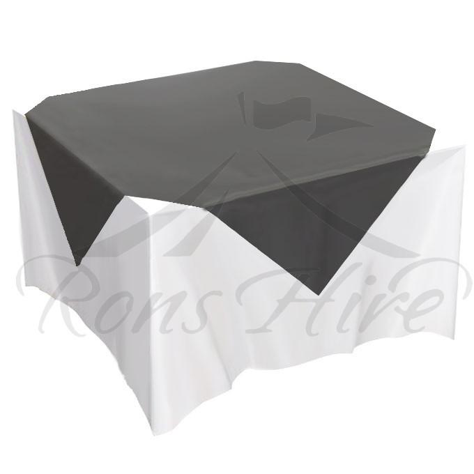 Overlay - Black Organza 1.35m x 1.35m Overlay