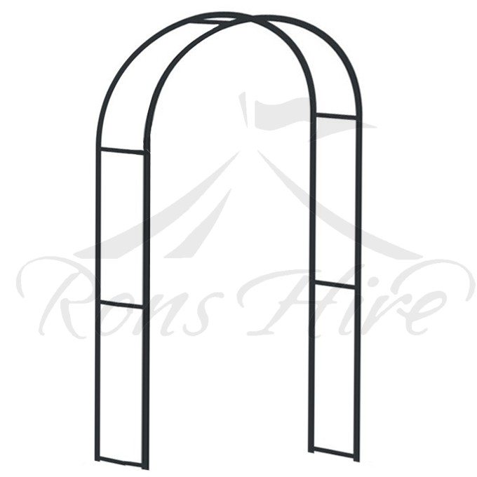 Arch - Black Wrought Iron Wedding Arch