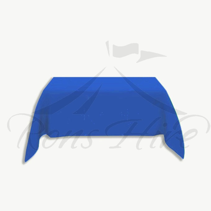 Tablecloth - Blue Linen 3.0m x 3.0m Square Tablecloth