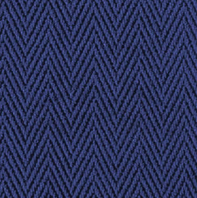 Carpet - Blue Nylon Bieberpoint 1m x 1m Square Carpet