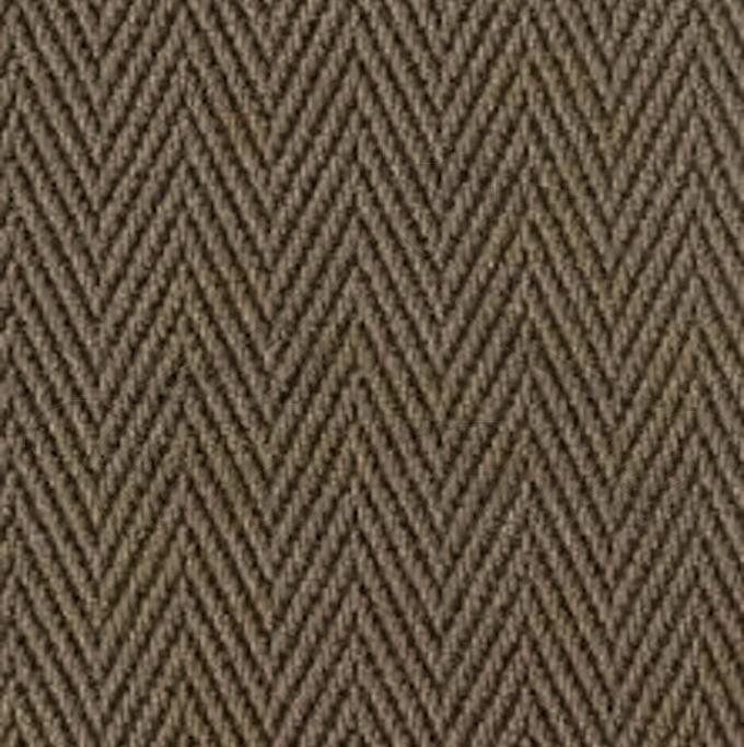 Carpet - Brown Nylon Bieberpoint 1m x 1m Square Carpet