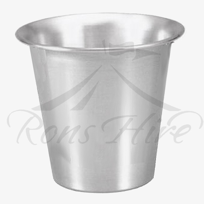 Bucket - Brushed Stainless Steel Classic Round Ice Bucket