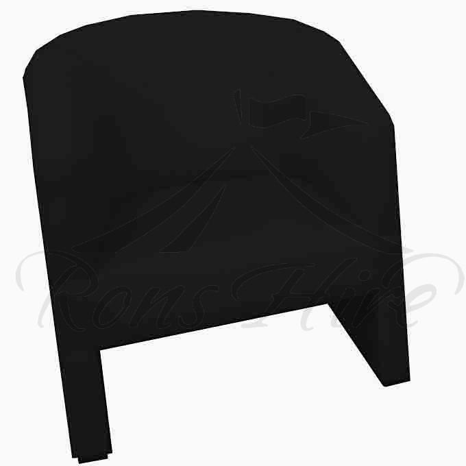 Chair - Black Tub Chair