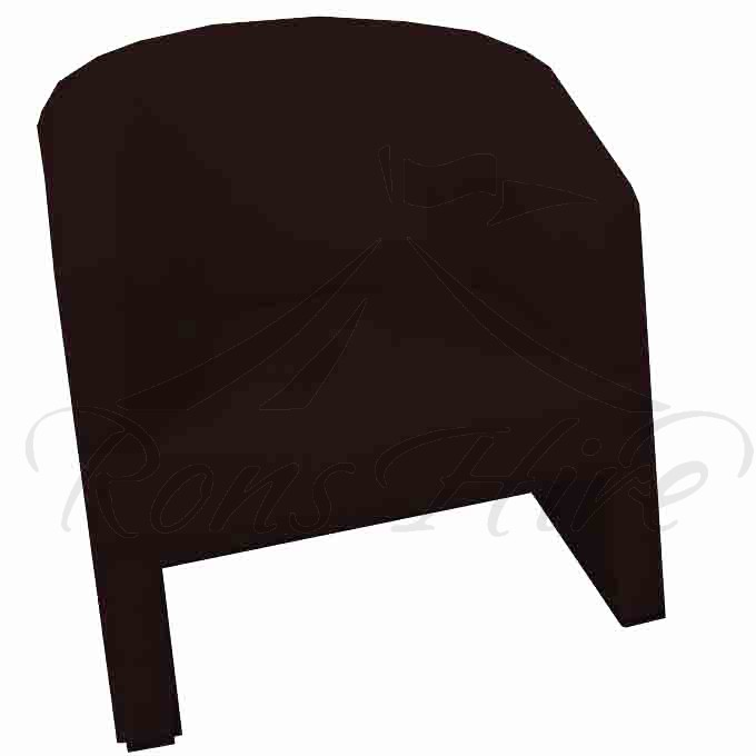 Chair - Brown Tub Chair