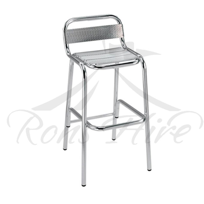 Chair  Cocktail - Aluminium Armless