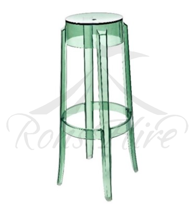 Stool - Clear Ghost Bar Stool