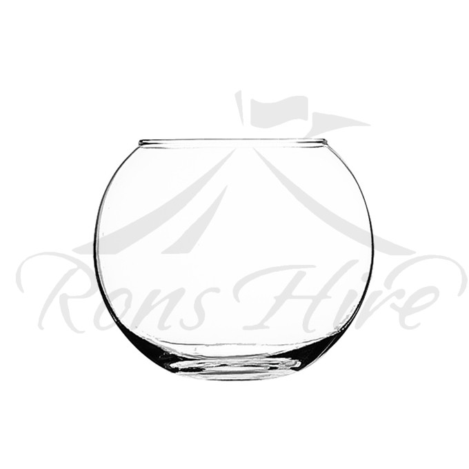 Candle Holder - Clear Glass Bubble Candle Holder