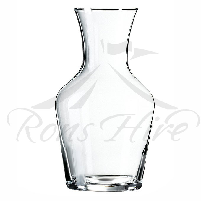 Carafes - Clear Glass Classic 1 litre Carafes