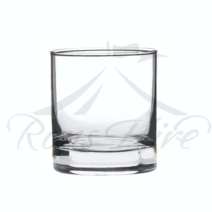 Glass - Clear Glass Classic Whiskey Glass