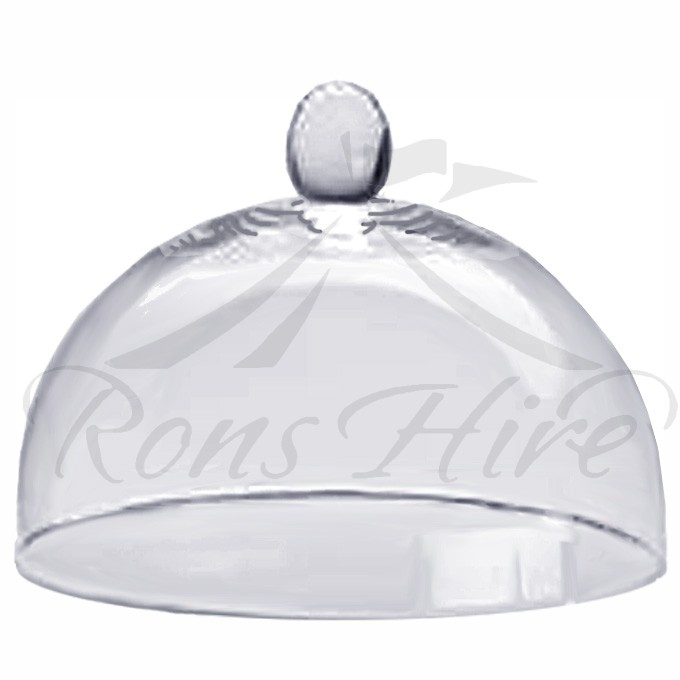 Cover - Clear Glass Medium Dome Cake Cover