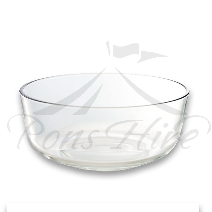 Bowl - Clear Glass Small Snack Bowl