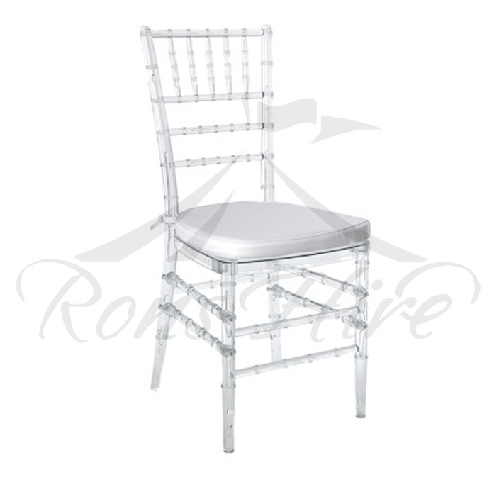 Chair - Clear Tiffany Chair