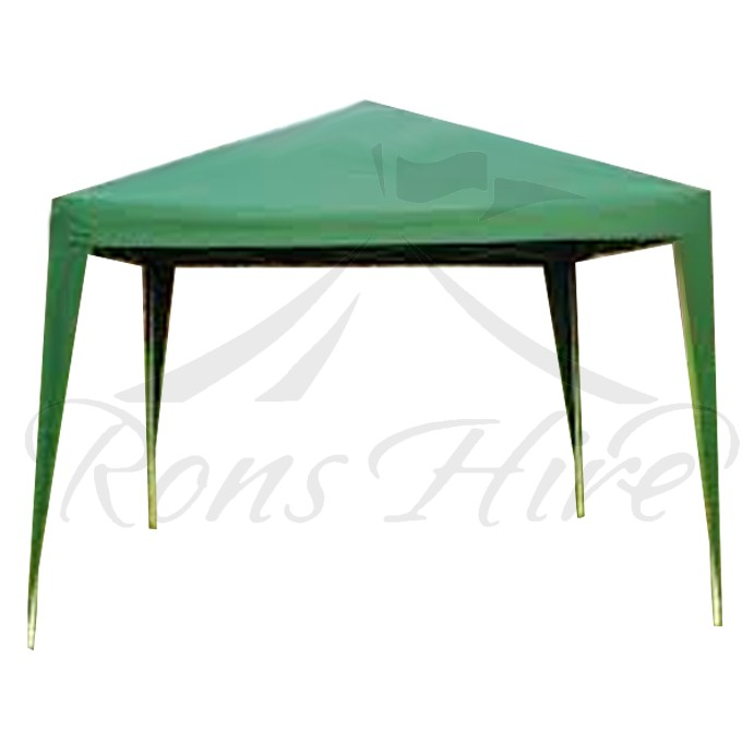 Gazebo - Dark Green 3.0m x 3.0m Gazebo