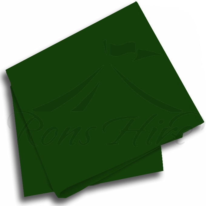 Napkin - Dark Green Damask Napkin