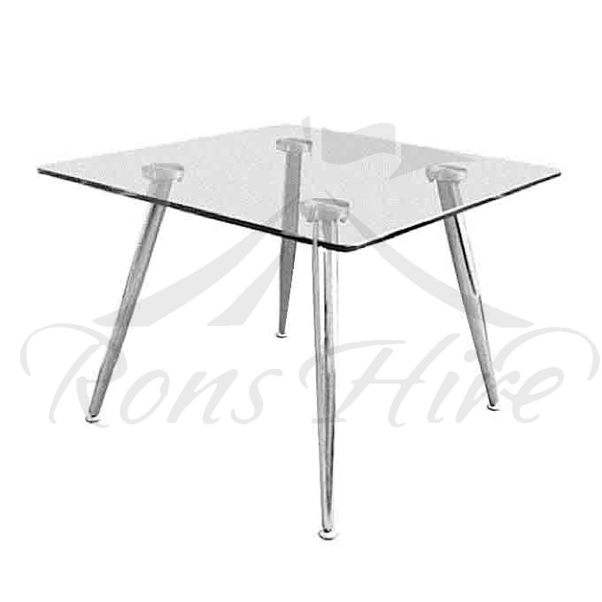 Table - Glass Side Table