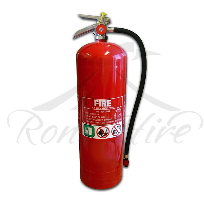 Fire Extinguisher - Red Steel 1.5kg Fire Extinguisher