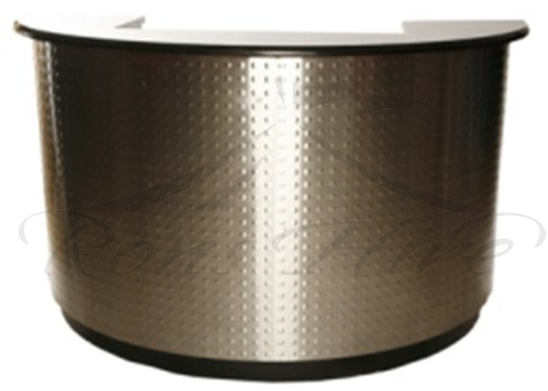 Bar - Stainless Steel 1.5m Semi-Circle Bar