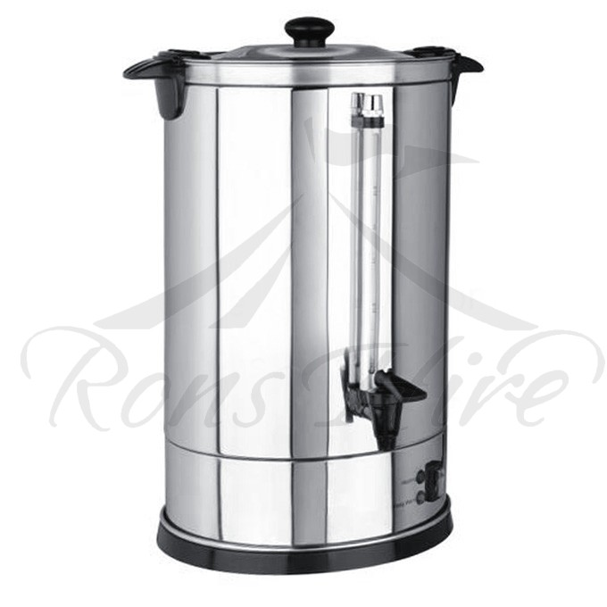 Urn - Stainless Steel Electrical 20 litre Round Urn