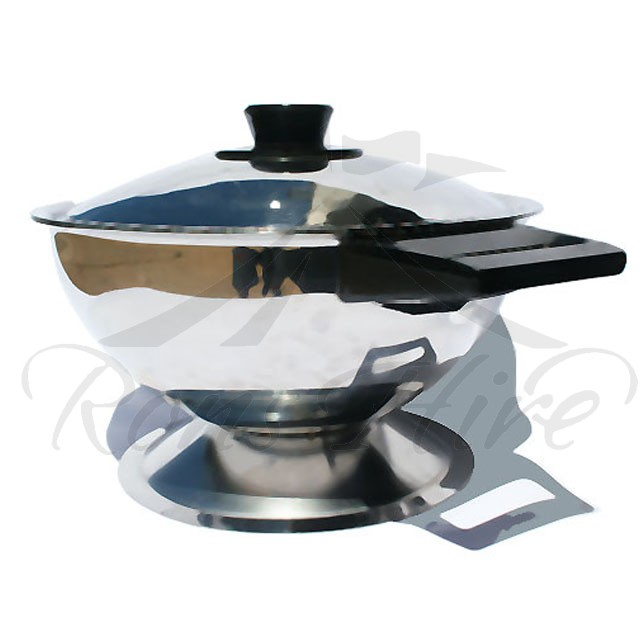 Tureen - Stainless Steel Medium Soup Tureen