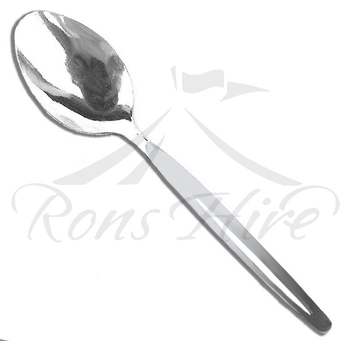 Spoon - Stainless Steel Short Serving Spoon