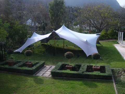 White Bedouin Stretch Tent - 7.5x10m & White Bedouin Stretch Tent - 7.5x10m Ronu0027s Hire Event u0026 Function Hire
