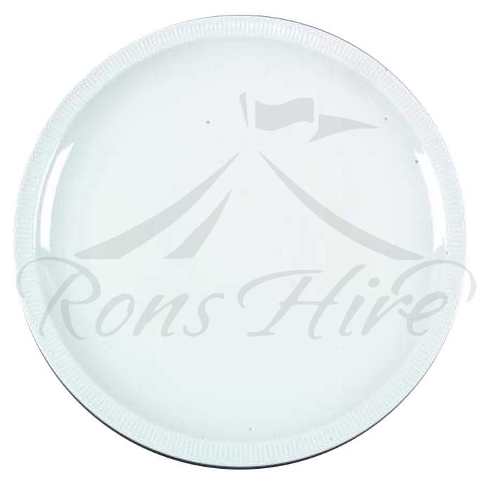 Platter - White Ceramic 30cm Round Platter