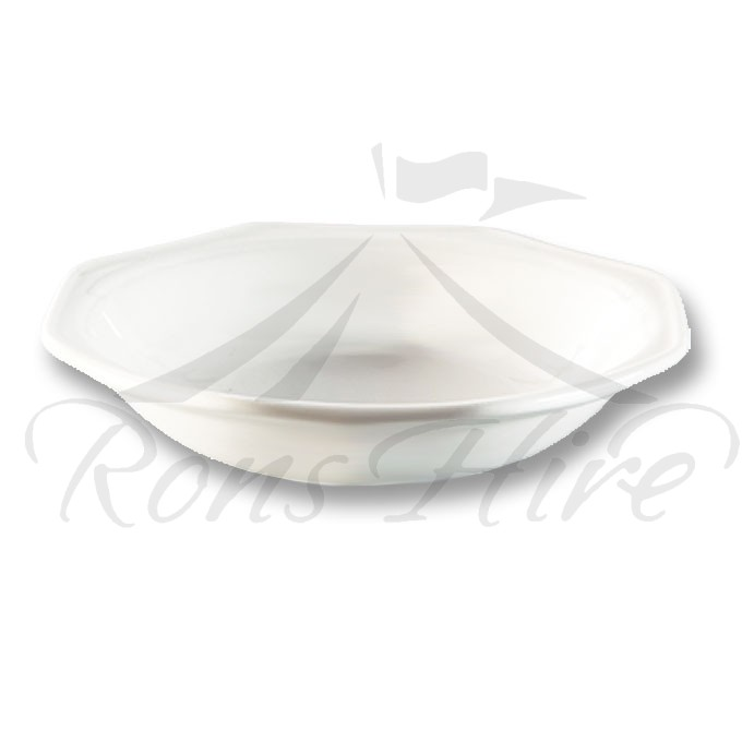 Soup Bowl - White Ceramic