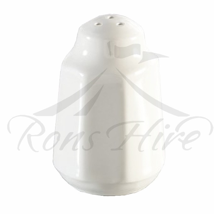 Cellar - White Ceramic Round Pepper Cellar