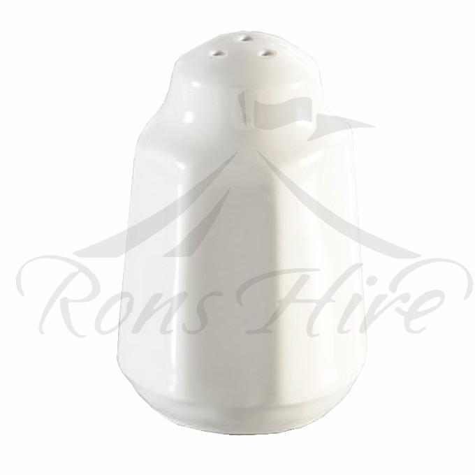 Cellar - White Ceramic Round Pepper Cellar