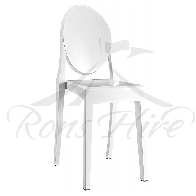 Chair - White Ghost Chair