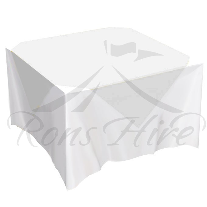 Overlay - White Organza 1.35m x 1.35m Overlay