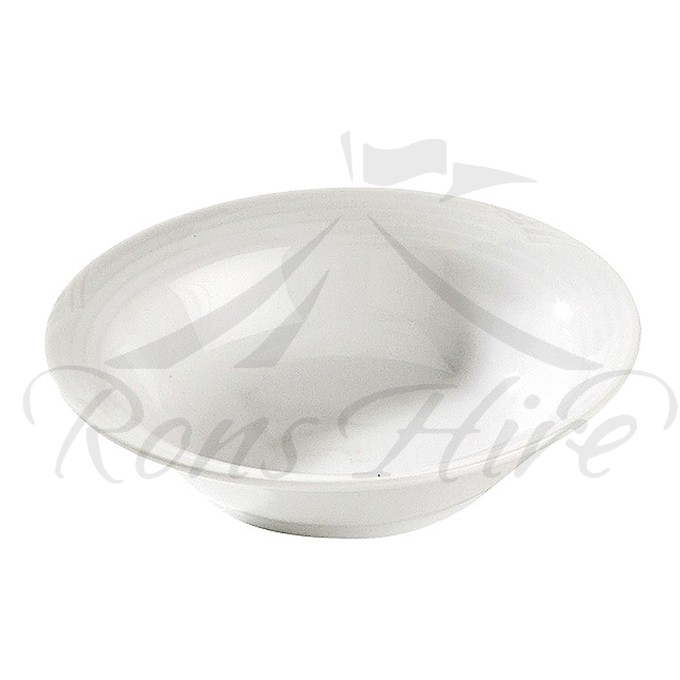 Bowl - White Porcelain Noritake Arctic 16cm Dessert Bowl