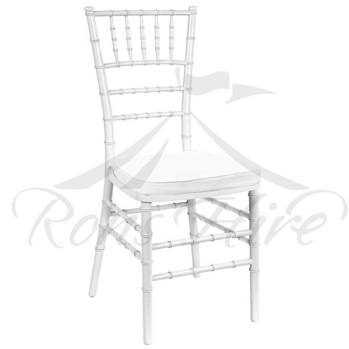 Chair - White Tiffany Chair