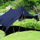 Black Bedouin Stretch Tent - 7.5x10m