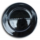 Underplate - Black Plastic Round Underplate