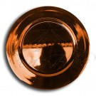 Underplate - Bronze Plastic Round Underplate