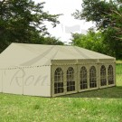 Green Steel Frame Marquee - 6x6m
