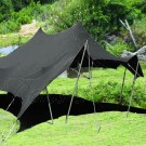 Grey Bedouin Stretch Tent - 6x6m