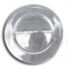 Underplate - Silver Plastic Round Underplate