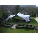 White Bedouin Stretch Tent - 7.5x10m