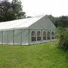 White Steel Frame Marquee