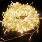 Fairy Lights - White Plastic Battery 1m String Fairy Lights