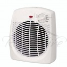 Fan Heater - White Plastic Small Fan Heater