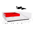 Table - White & Red Calisto Coffee Table